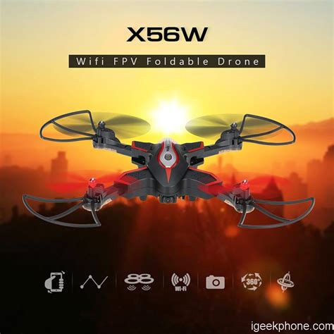 Syma X56w syma x56w foldable drone rc quadcopter design feature review