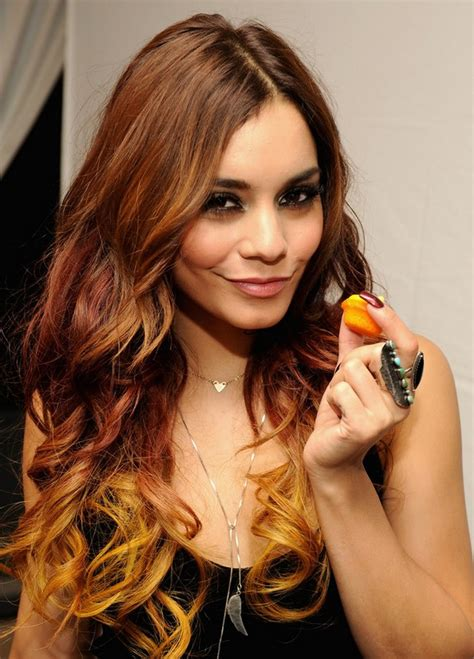 vanessa hudgens ombre hair long ombre hair styles weekly