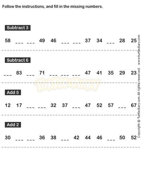 number pattern in maths number sequence worksheet 16 math worksheets grade 1