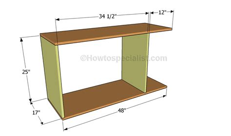 plans for office desk office desk plans howtospecialist how to build step