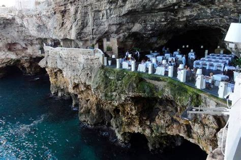 cave resturuant side of a cliff italy collection of cave restaurant side of a cliff italy