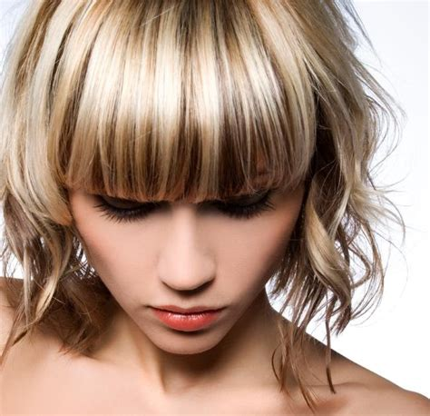 high and lowlights hairstyles the gallery for gt blonde hair with chunky lowlights