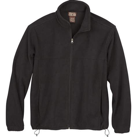 zip up fleece jacket free shipping gravel gear s zip up fleece jacket