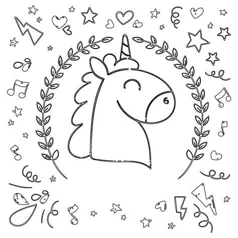 unicornio imagenes para pintar unicornio de dibujo los mas bonitos para colorear y