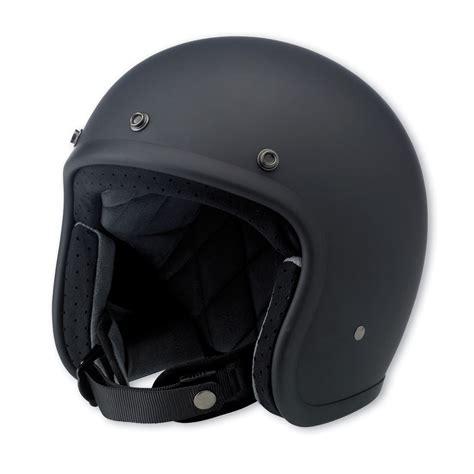 open face motocross helmet biltwell inc bonanza flat black open face helmet 713