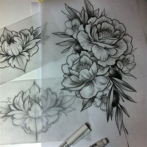 flower hip tattoo designs best 25 flower designs ideas on ankle