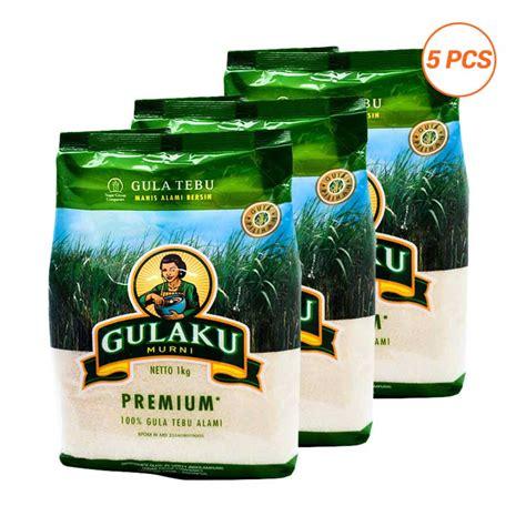 Harga 1 Kg jual gulaku premium gula pasir 5 packs 1 kg