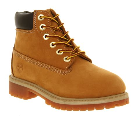 infant timberland boots timberland 6 inch classic boots infant wheat nubuck