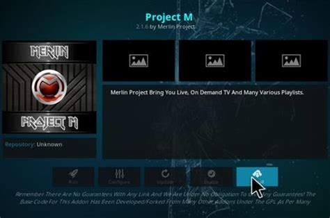 how to install project m how to install project m kodi add on with screenshots