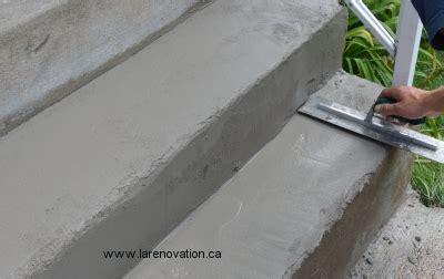 Renover Un Escalier Beton by Refaire Marche Escalier Beton Exterieur