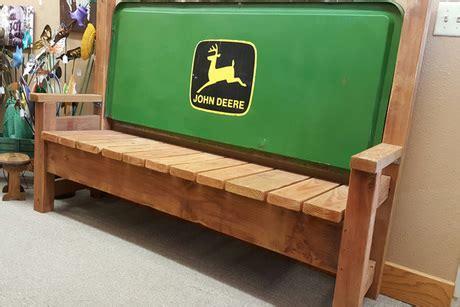 john deere bench john deere wood bench from wyomade casper wy auctions