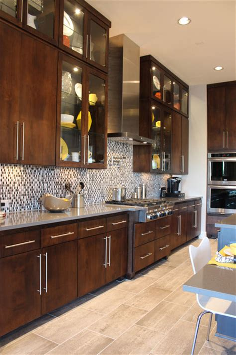 veneer kitchen cabinet doors slab veneer cabinet doors in select walnut by taylorcraft cabinet door company modern