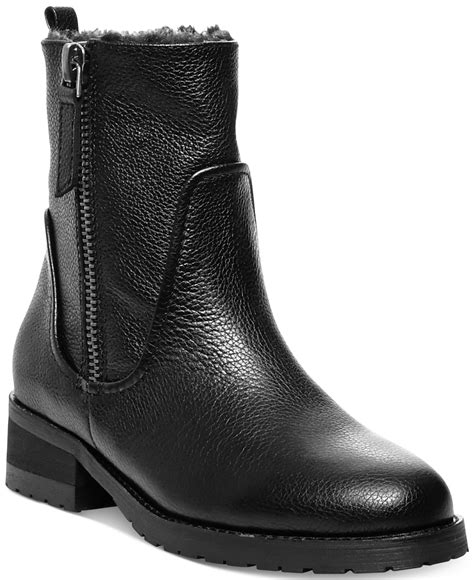 cold weather boots for steven by steve madden cozy cold weather boots in black