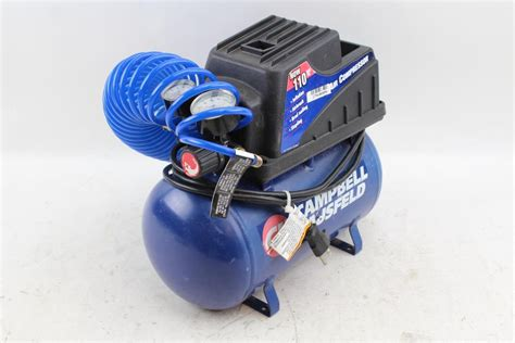 cbell hausfeld portable air compressor property room