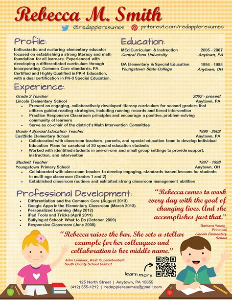 sample resume elementary teacher military bralicious co