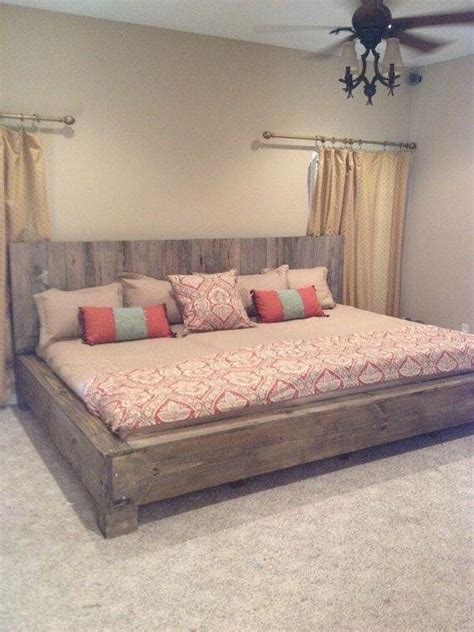 How To Build A California King Bed Frame 25 Best Ideas About King Size Beds On Pinterest Diy King Bed Frame King Size Bed Frame And