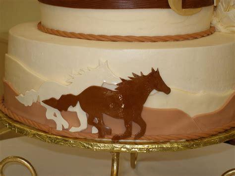 western theme wedding cake cakecentral