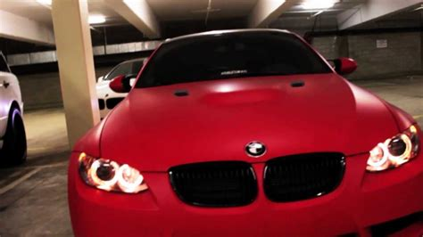 matte red bmw project bmw m3 e92 wrapped in ultra matte red by dbx