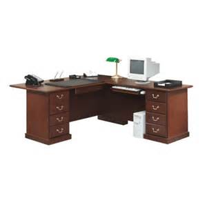 l shaped sauder heritage hill l shaped desk