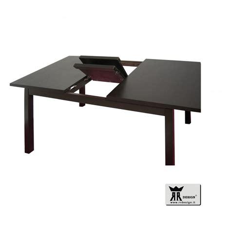 tavolo moderno allungabile in legno weng 233 della linea rr