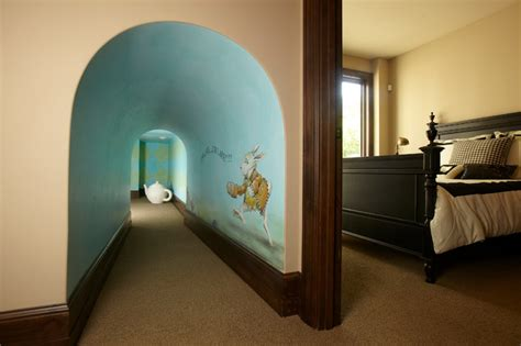 Disney Inspired Home Decor by Alice In Wonderland Playroom Traditional Kids