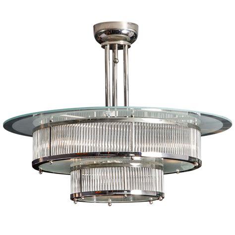 Art Deco Chandelier At 1stdibs Deco Chandelier Lighting
