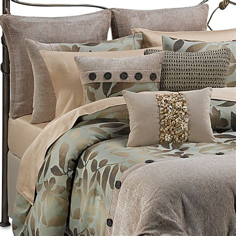 b smith bedding b smith ombre leaves complete bed ensemble bed bath beyond