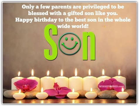 Happy Birthday Wishes From Parents To Top 100 Sweet Birthday Wishes For Son Good Wishes For