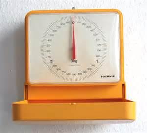 balance de cuisine soehnle mur 233 chelle de vintage 1970