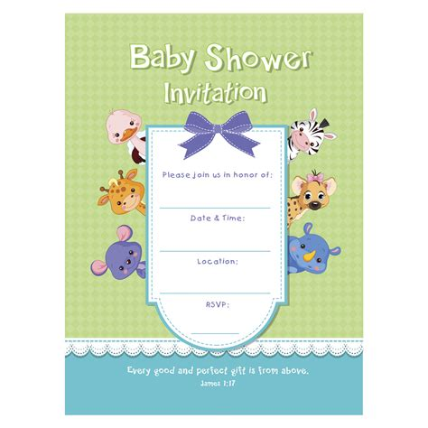 Christian Baby Shower Invitation Cards by Baby Shower Invitation Lulla 1 17