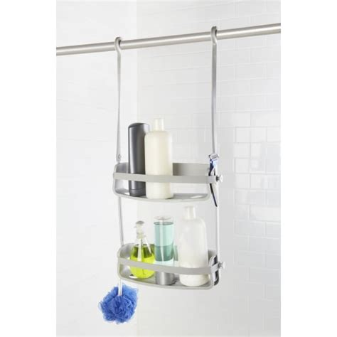 umbra bathtub caddy umbra flex shower caddy grey hurn and hurn