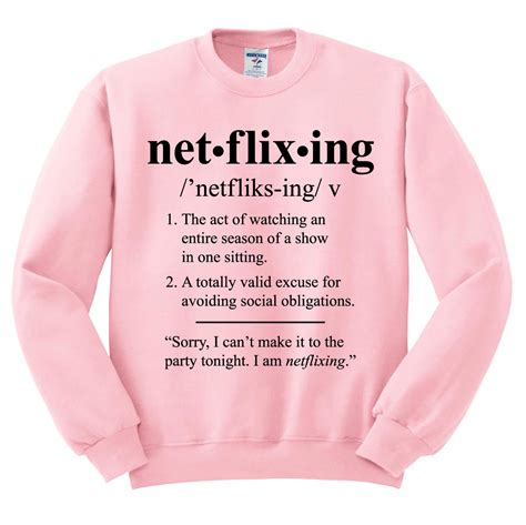 meaning of pink pink crewneck netflixing definition sweater jumper