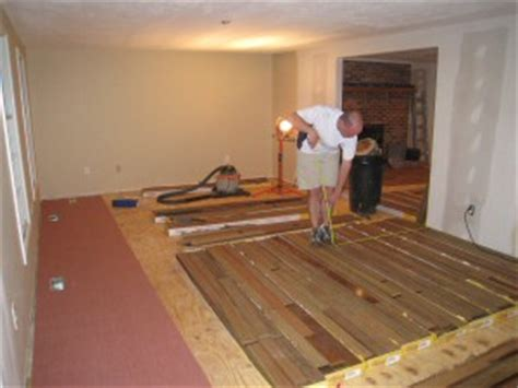 how how long to acclimate solid hardwood floors one