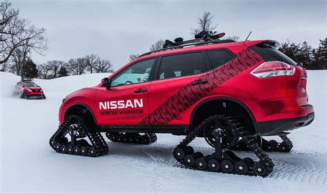 nissan winter nissan winter warrior concepts revealed for chicago