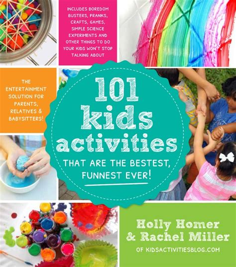 Kids Giveaway Ideas - fizzing sidewalk paint craft 101 kids activities book giveaway