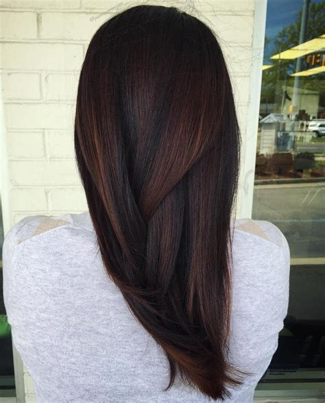 highlight colors for brown hair 60 chocolate brown hair color ideas for brunettes
