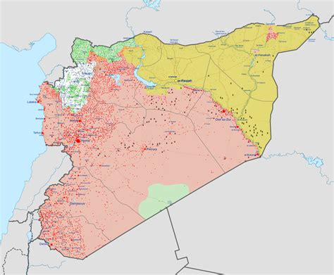 syrian civil war map template syrian civil war