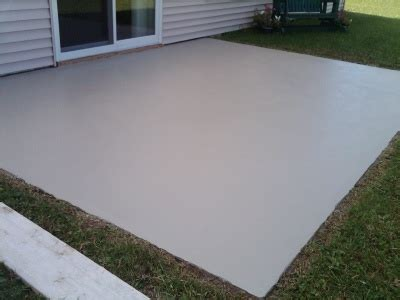 Ugly Backyard Makeovers A Concrete Overlay Makeover How I Resurface Ugly Concrete