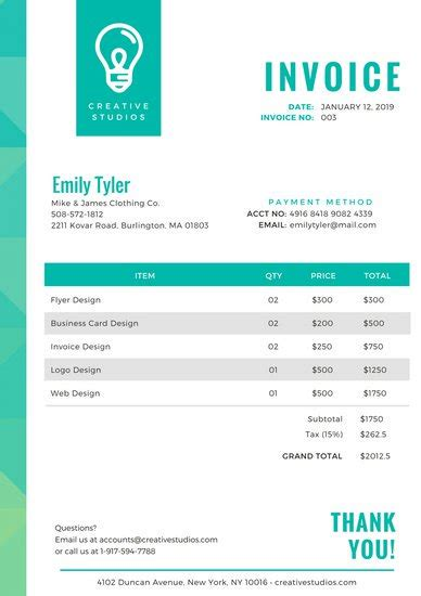 Canva Take Yoru Receipt Template by Customize 203 Invoice Templates Canva
