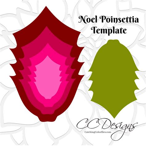 paper poinsettias made from recycled cards template paper flower poinsettia large paper poinsettia