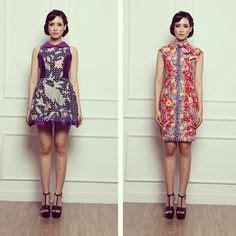 Dress Panjang Selutut 1000 images about modern batik on batik dress indonesia and stella jean