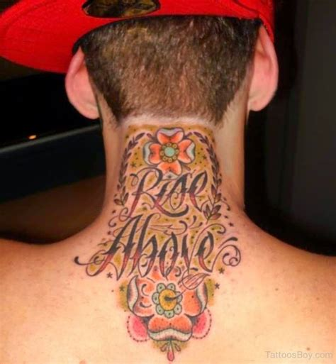 rise above tattoo neck tattoos designs pictures