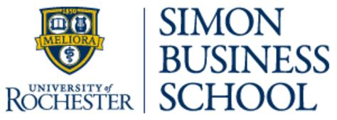 Of Rochester Mba Part Time by Simon Business School