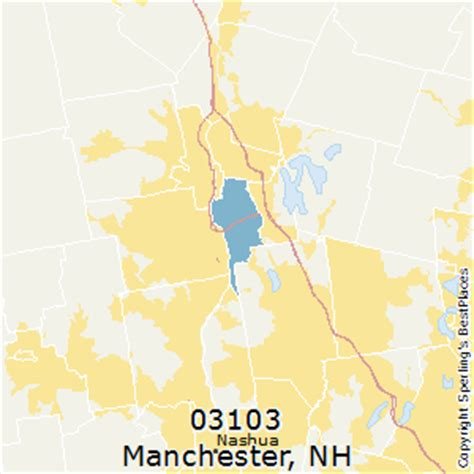new hshire zip code map best places to live in manchester zip 03103 new hshire
