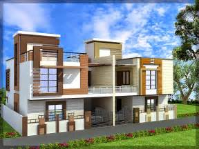 Twin Home Plans Ghar Planner Leading House Plan And House Design