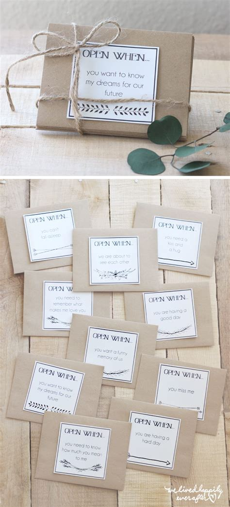 printable open when letters free creative open when letter ideas designs