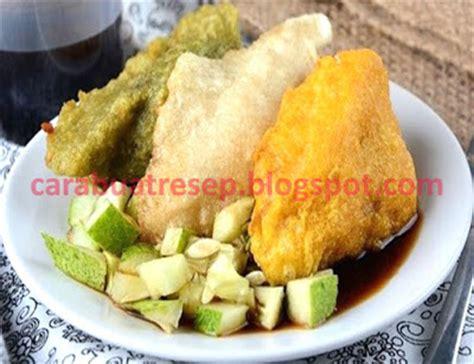 cara membuat pempek sayur vegetarian resep masakan indonesia