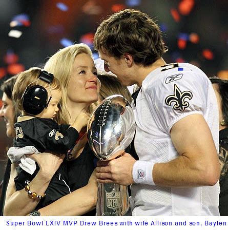 drew brees–si's sportsman of the year | for his glory