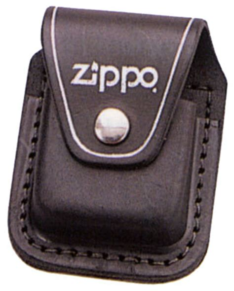 black zippo leather holder leather zippo holder