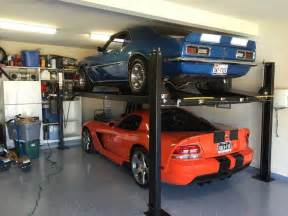 Garage Car Storage Lift by Garage Astounding Garage Lift Ideas Used Car Lifts For
